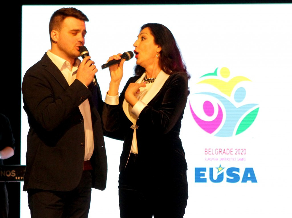 Musical performers featured at the promotional event ©European Universities Games