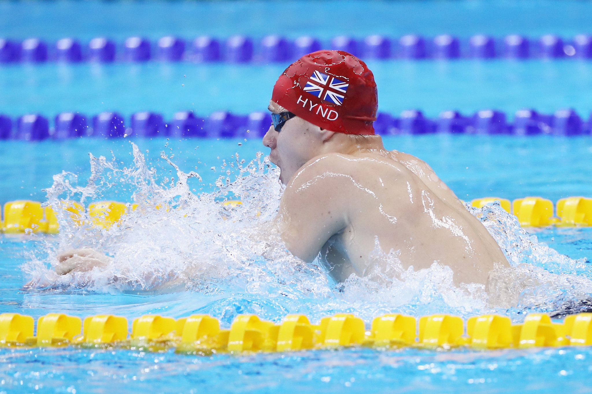 Oliver Hynd pictured swimming at the Rio 2016 Paralympics ©Getty Images