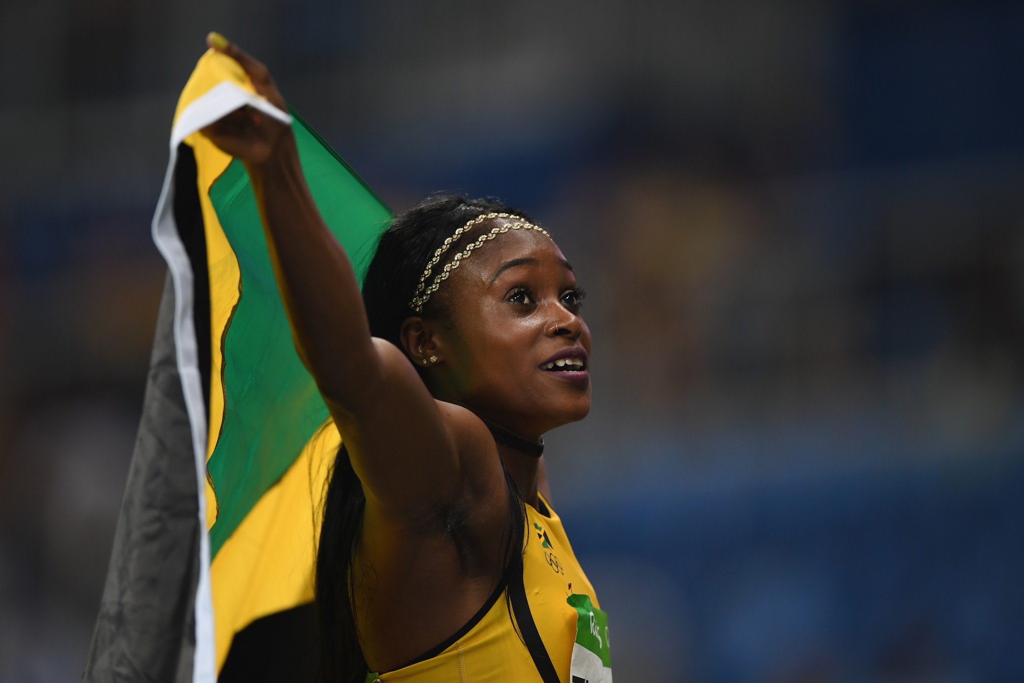 Elaine Thompson is a leading name in the Jamaican athletics squad for Gold Coast 2018 ©Getty Images