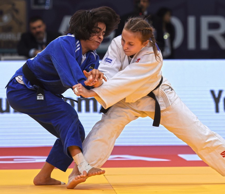 Dolgova among winners on opening day of IJF Grand Prix in Agadir