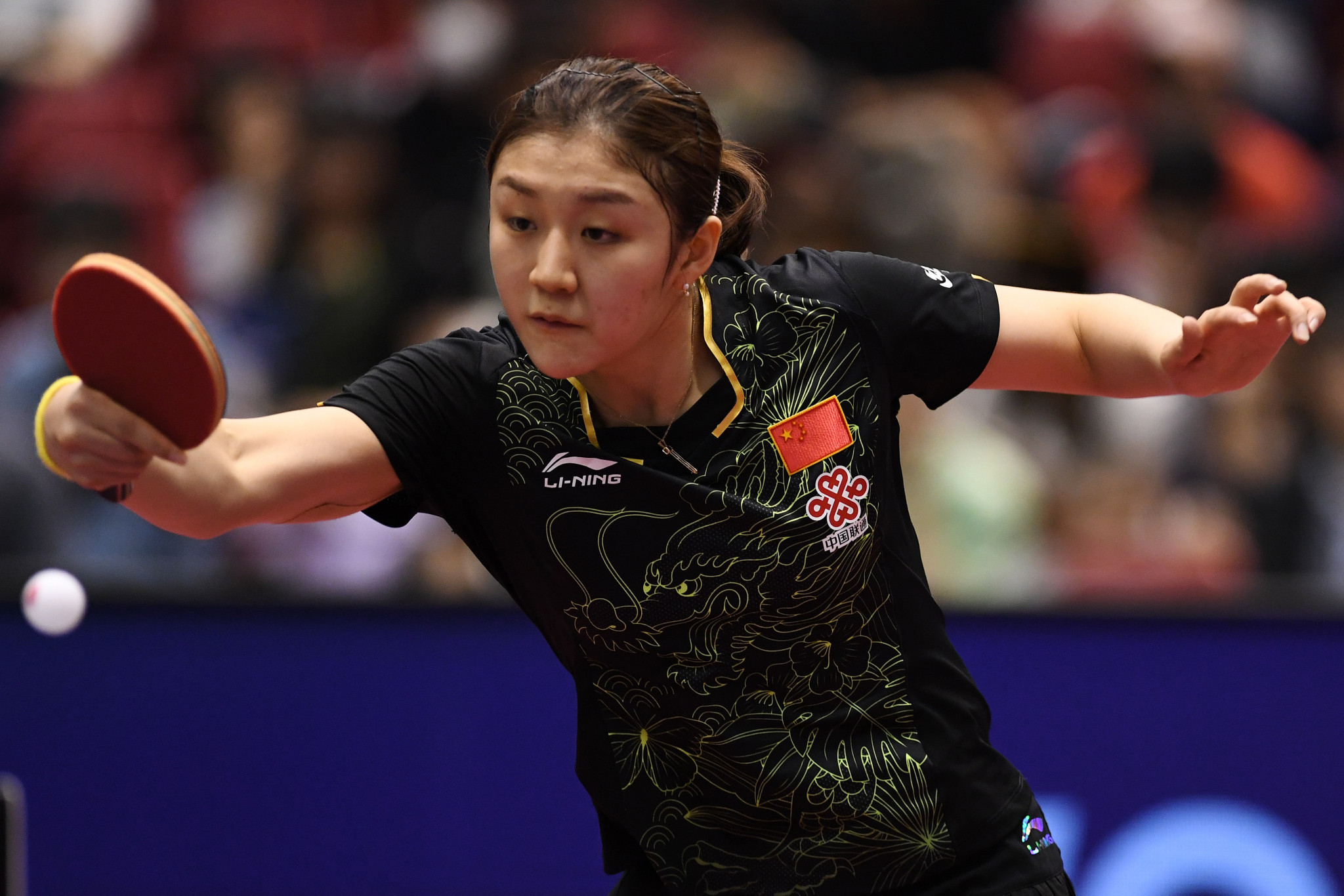 Chen Meng beats Olympic and world champion Ding Ning en route to ITTF Qatar Open semi-final