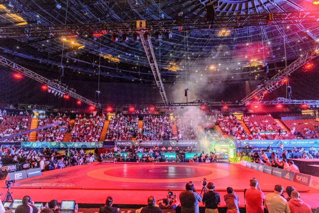 United World Wrestling to live stream World Championships from Las Vegas