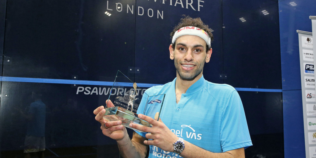 ElShorbagy becomes first Egyptian to win PSA Canary Wharf Classic