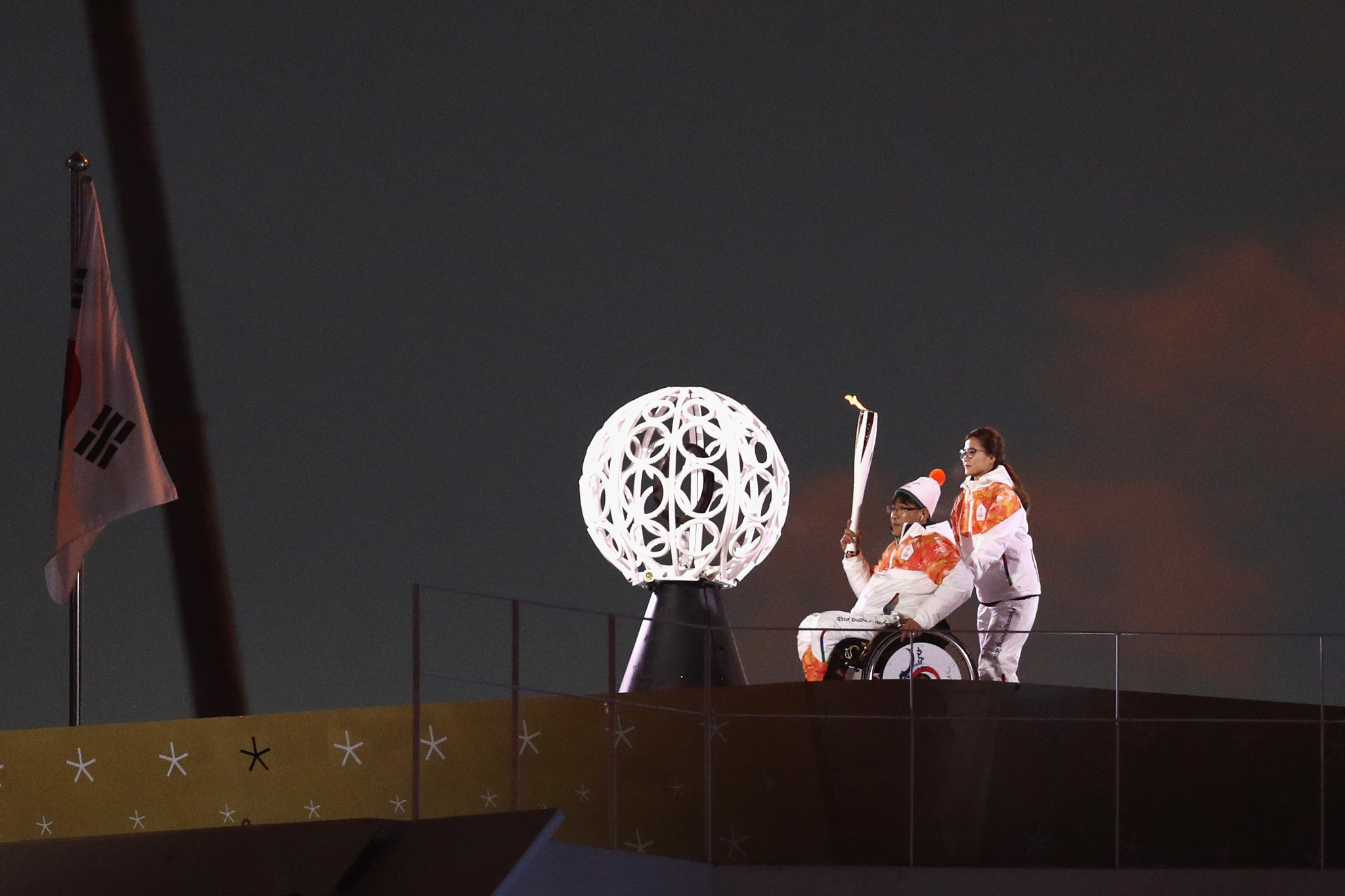 Pyeongchang 2018 Paralympic Cauldron lighters chosen just hours before Opening Ceremony