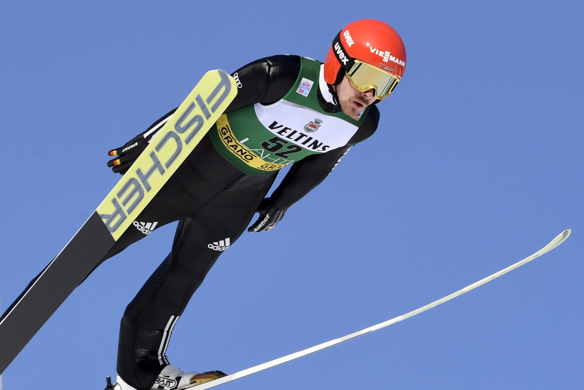 Fabian Riessle of Germany finished second in the FIS Nordic Combined World Cup in Oslo ©Getty Images