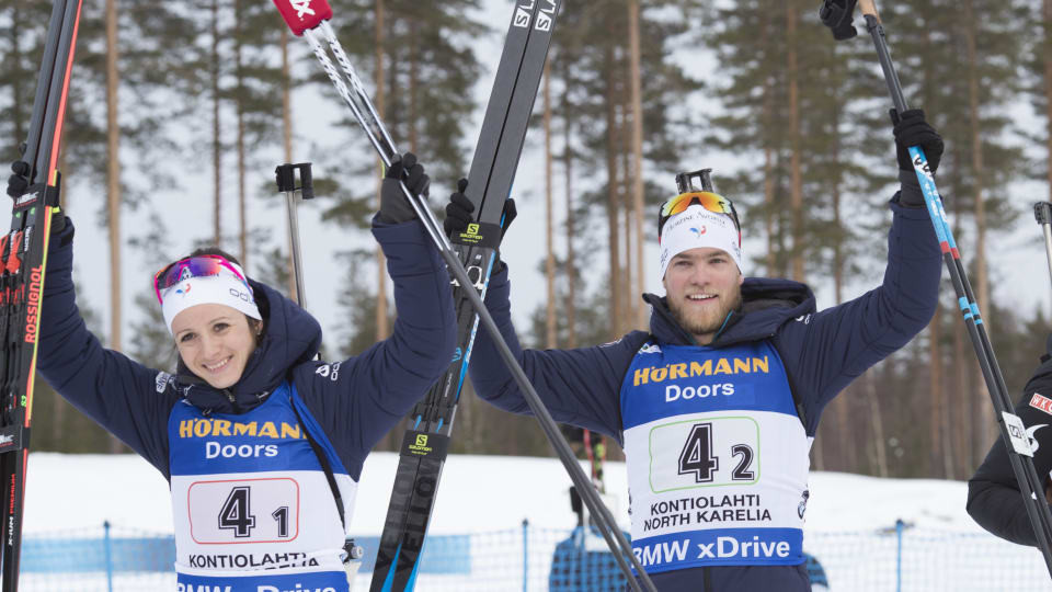 Italy and France win mixed relays at IBU World Cup in Kontiolahtii