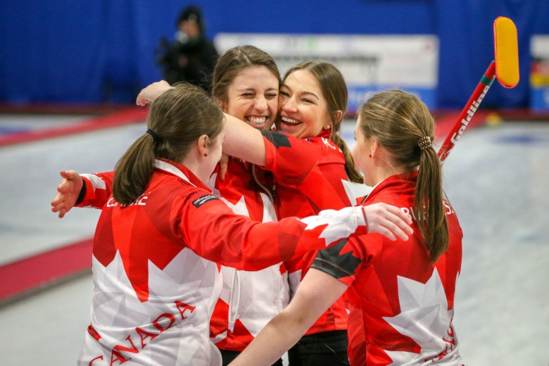 Silver for Scotland's curlers at World Junior Championships