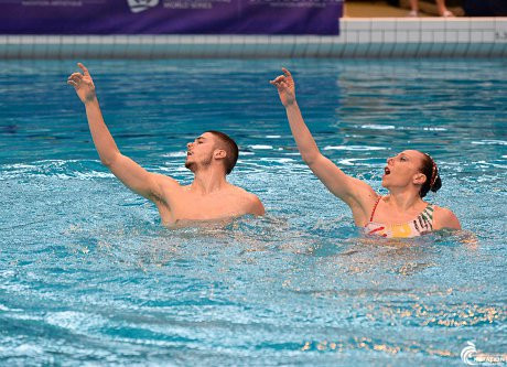 Ukraine and Italy take turn to shine at FINA Artistic Swimming World Series in Montreuil