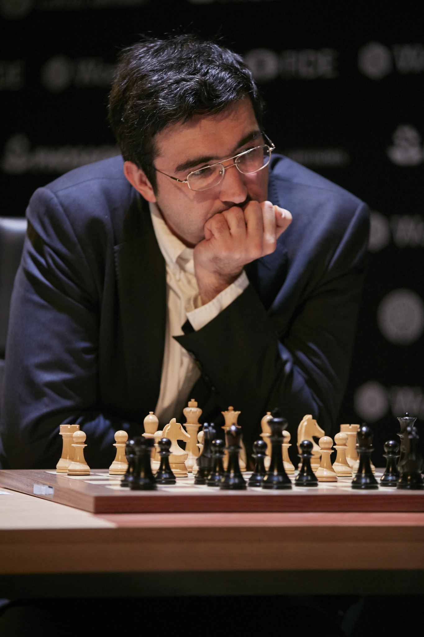 Russian wild card entry Vladimir Kramnik had an opening day victory at the FIDE Candidates Tournament for the right to challenge Norway's 27-year-old Magnus Carlsen for the world title underway in Berlin ©Getty Images