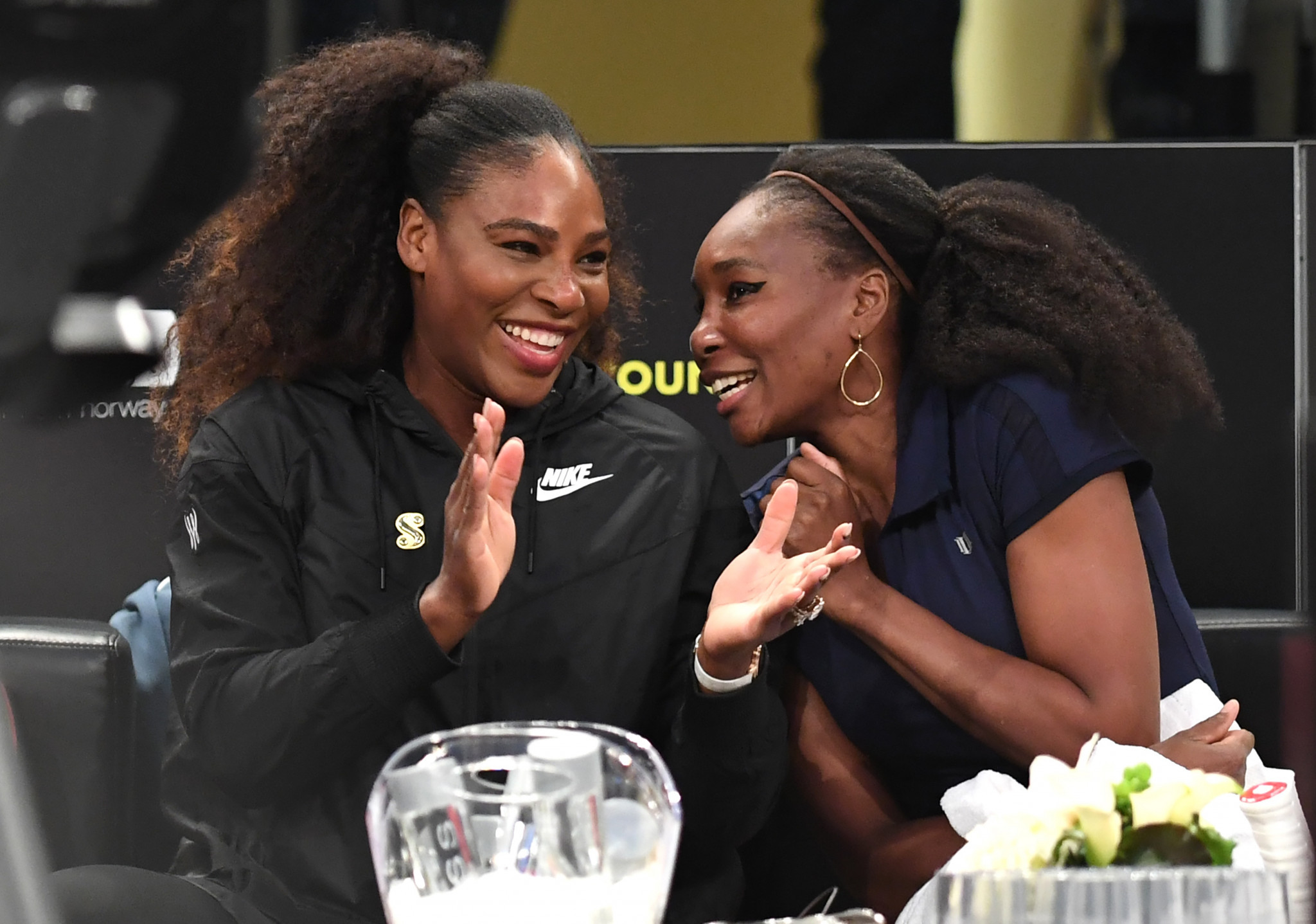 Serena powers to 1st win in comeback with baby on her mind