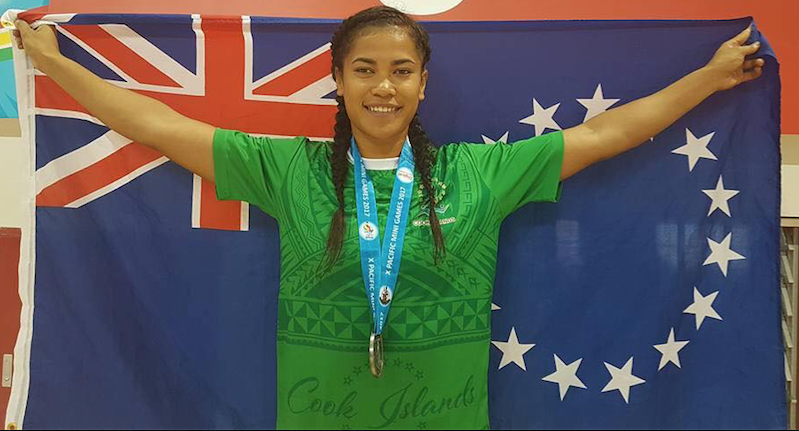 Cook Islands sprinter Patricia Taea will compete in sprint events ©Facebook/Team Cook Islands