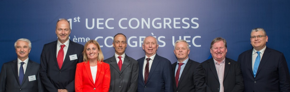 Cattaneo confirmed as UEC President at Congress