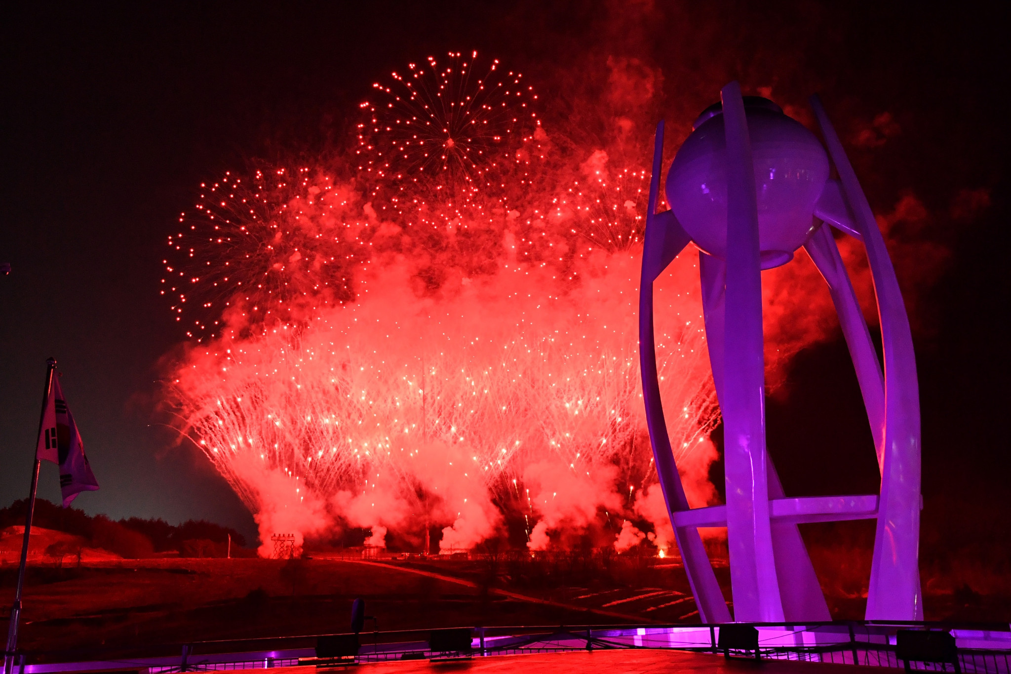 The Pyeongchang 2018 Winter Olympic Games were held last month ©Getty Images
