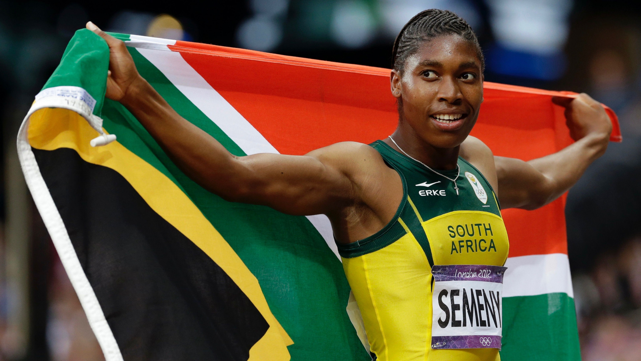 South Africa's Caster Semenya is hoping to win her first Commonwealth Games gold medal at Gold Coast 2018 ©Getty Images
