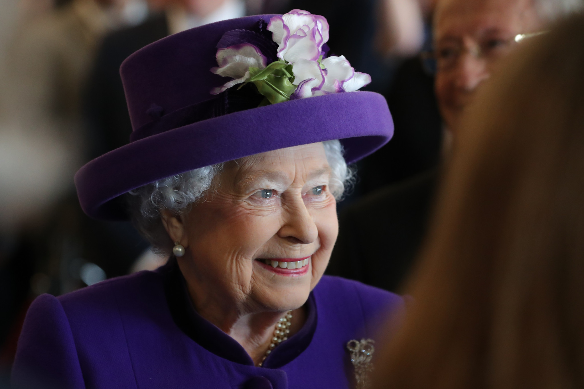 The Queen has praised the contribution of volunteers at Gold Coast 2018 ©Getty Images