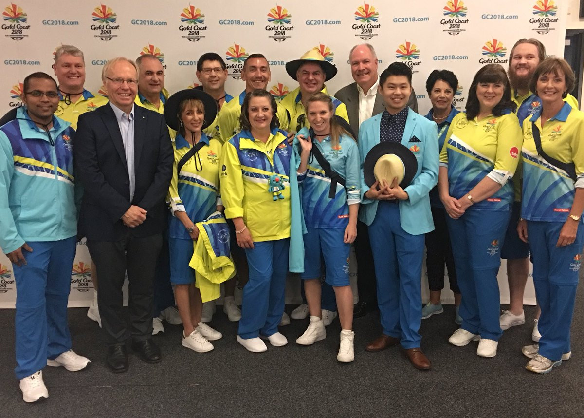 There are expected to be 15,000 volunteers working more than one million unpaid hours during Gold Coast 2018 ©Twitter