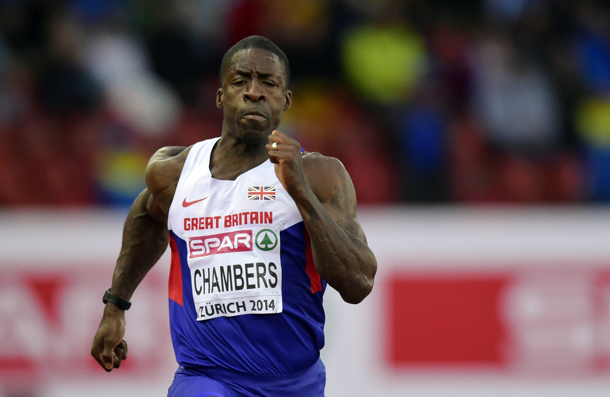 Britain's Dwain Chambers is among those to have divided public opinion regarding doping cases ©Getty Images