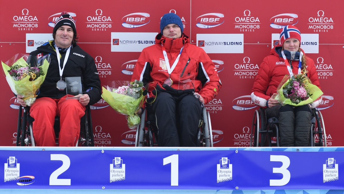 Norway's Guro Konstanse Frønsdal became the first woman to medal at the Championships by taking bronze ©IBSF