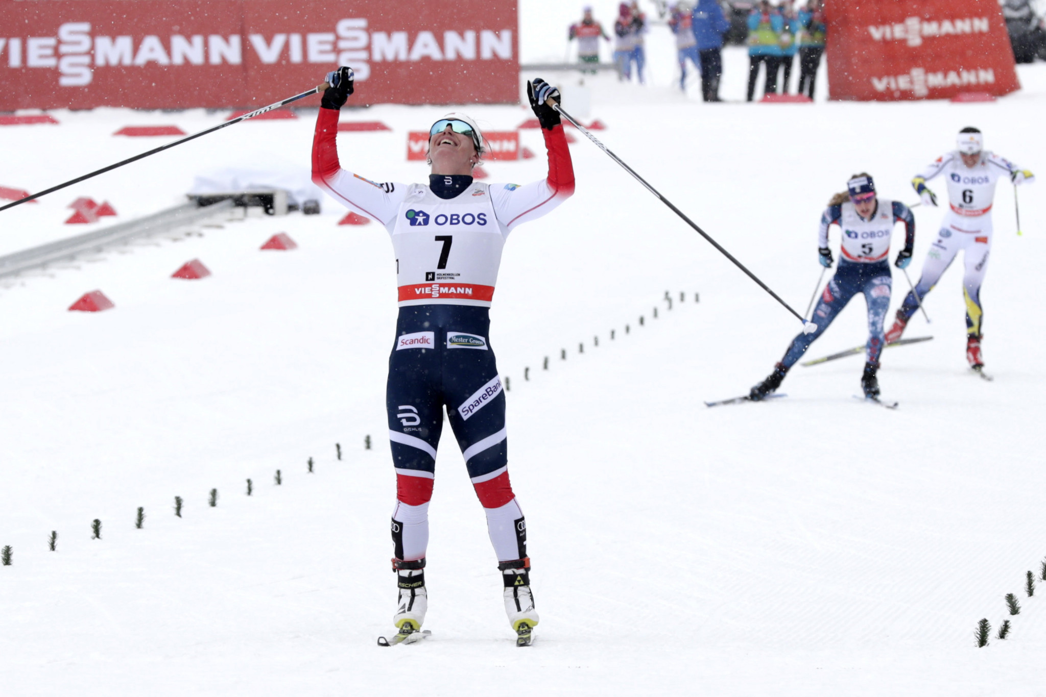 Bjørgen clinches record seventh success at FIS Cross-Country World Cup in Oslo