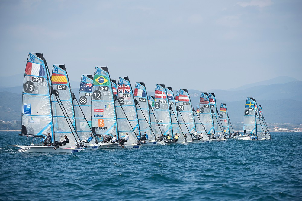 Frenchman at the double on home waters at ISAF World Cup
