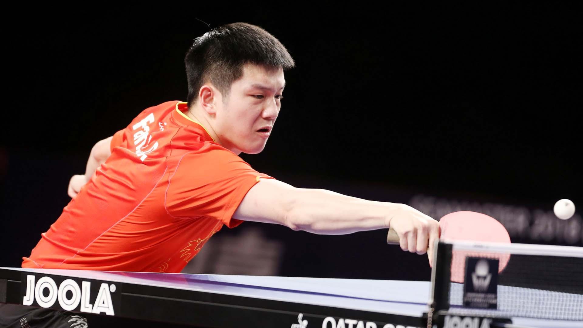 Fan Zhendong puts lights out on the Calderano show at ITTF Qatar Open