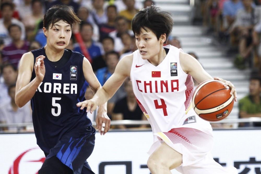 China claimed a 60-45 win over Korea to advance