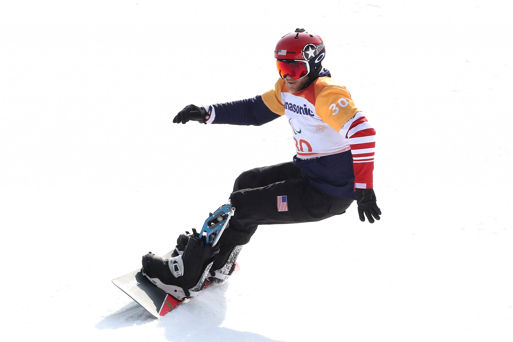 United States dominate snowboard cross at Winter Paralympics
