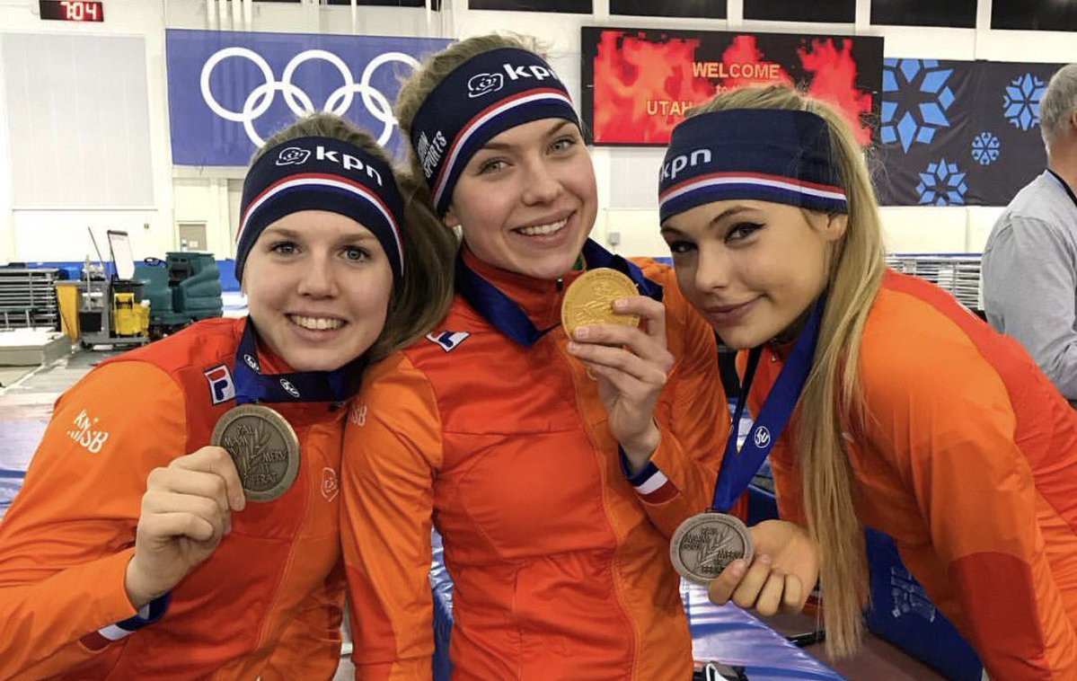 Netherlands take women's team pursuit gold at ISU World Junior Speed Skating Championships