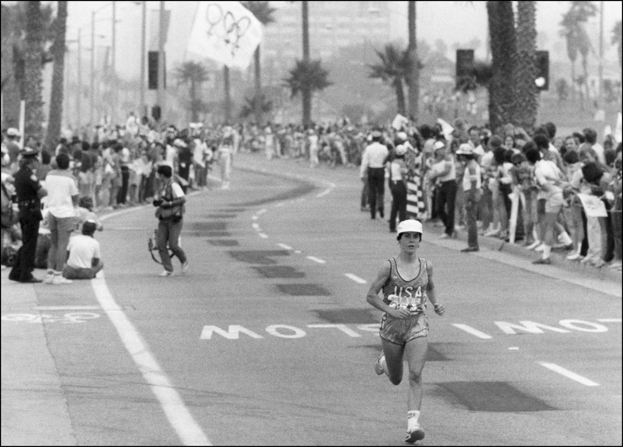 Women have competed the marathon distance at the Olympics since Los Angeles 1984, when the United States Joan Benoit won the inaugural edition ©AFP/Getty Images