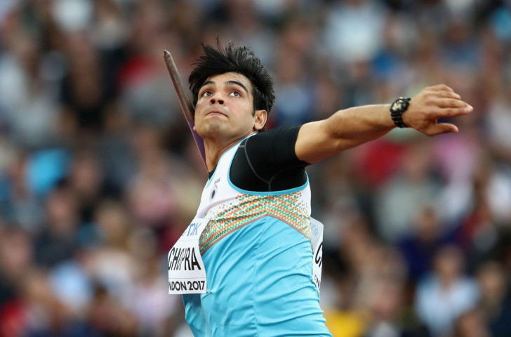 India's world junior javelin champion Neeraj Chopra has been named in a 31-strong team for Gold Coast 2018 ©Getty Images