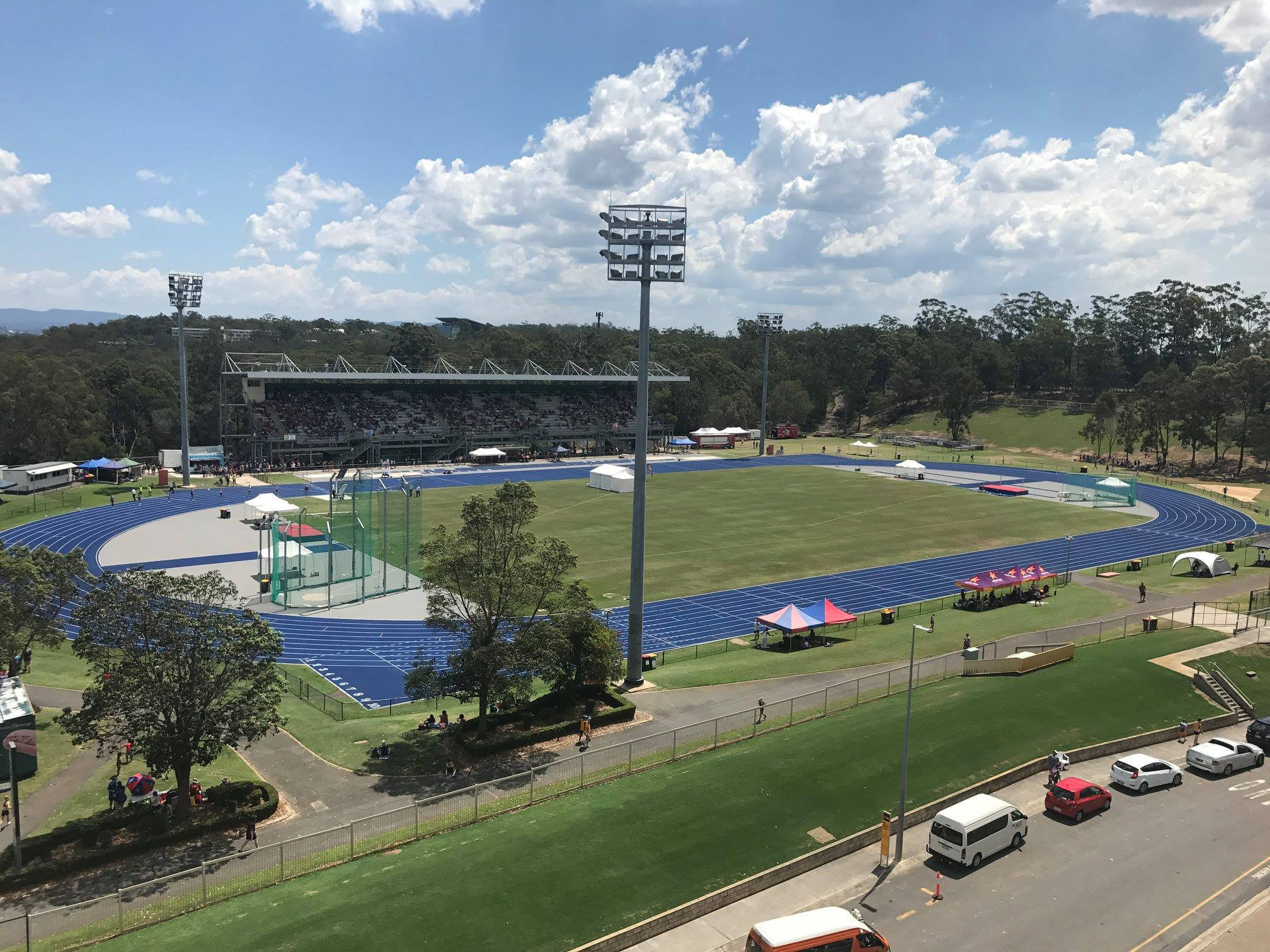 England's athletes will be using the Queensland Sport and Athletics Centre in Brisbane to prepare for the Commonwealth Games and its swimmers will be training at the Somerville House swimming pool ©Facebook
