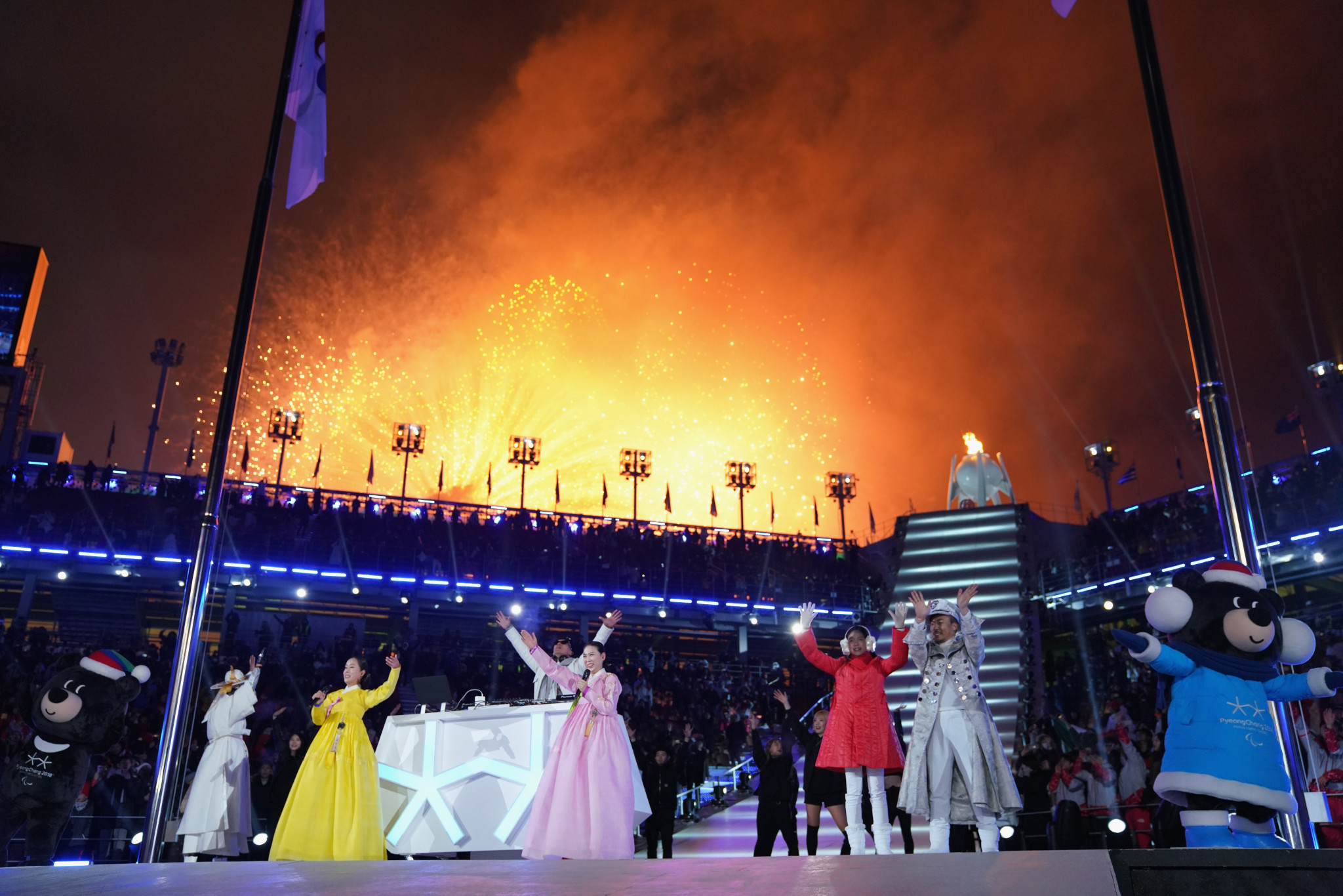 The Opening Ceremony of the Pyeongchang 2018 Winter Paralympics had a crowd of 21,000 ©Getty Images