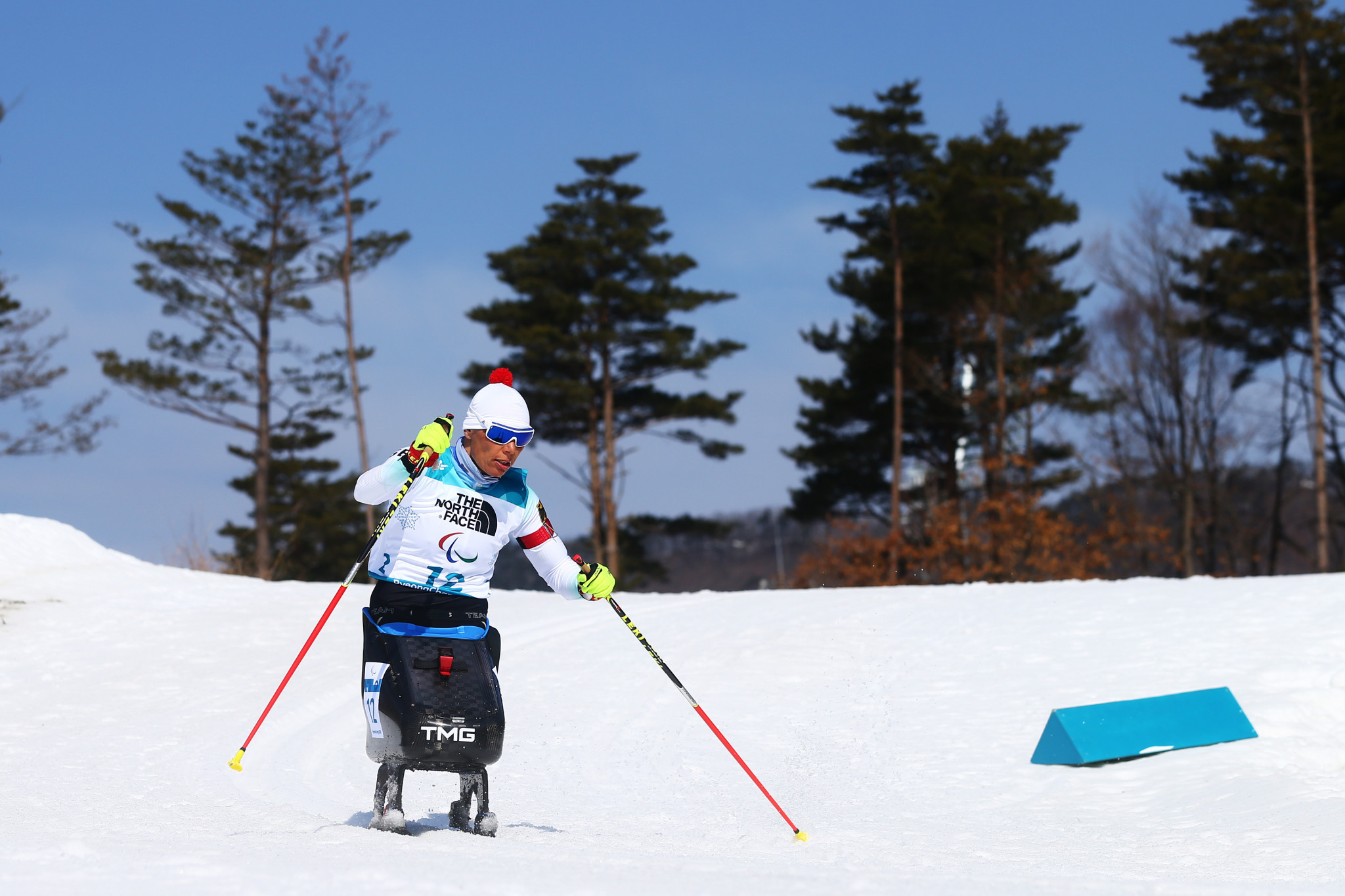 Andrea Eskau claimed her first Winter Paralympic title in today's biathlon competition ©Getty Images