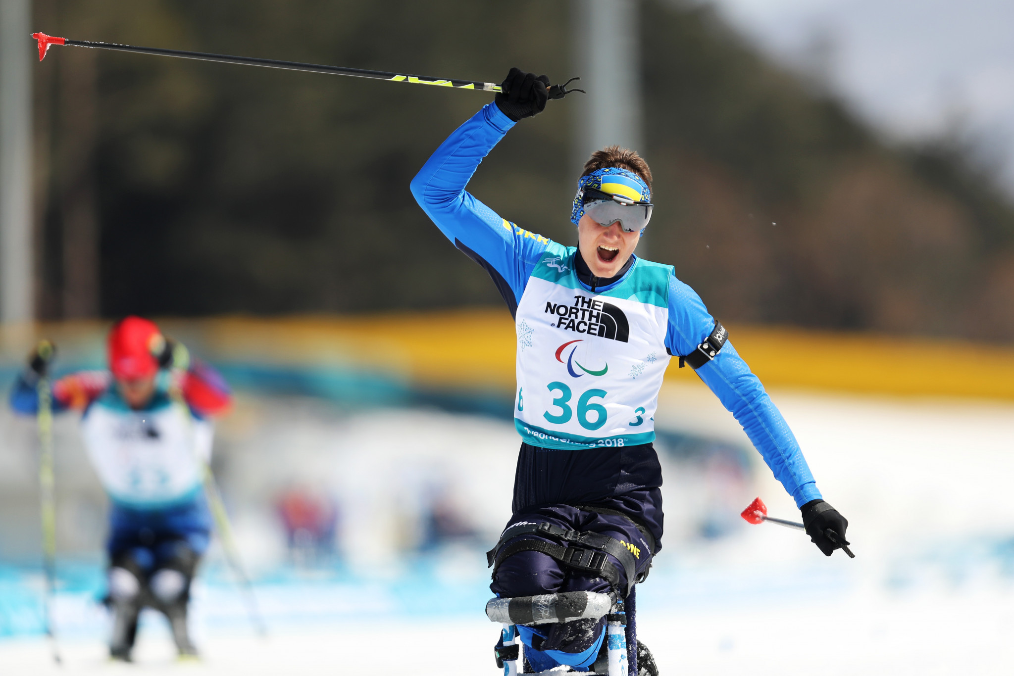 Taras Rad collected one of Ukraine's two biathlon titles today ©Getty Images