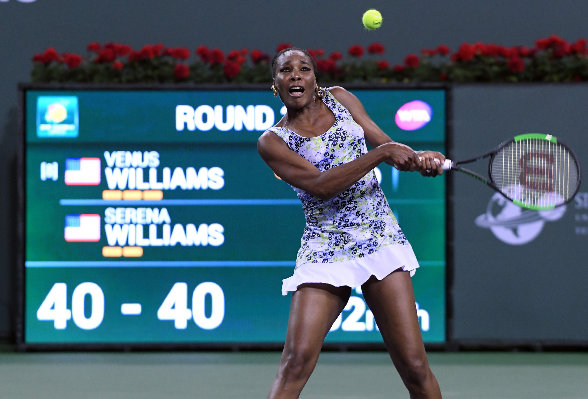 America's Venus Williams overcame her sister Serena at Indian Wells ©Getty Images