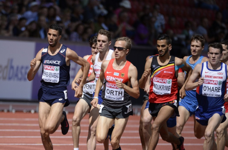 Action from last year's European Athletics Championships men's 1500m final in Zurich. Svein Arne Hansen, the European Athletics Prresident, wants middle and long distance talents to use European-only races at elite meetings to help their development  ©Getty Images
