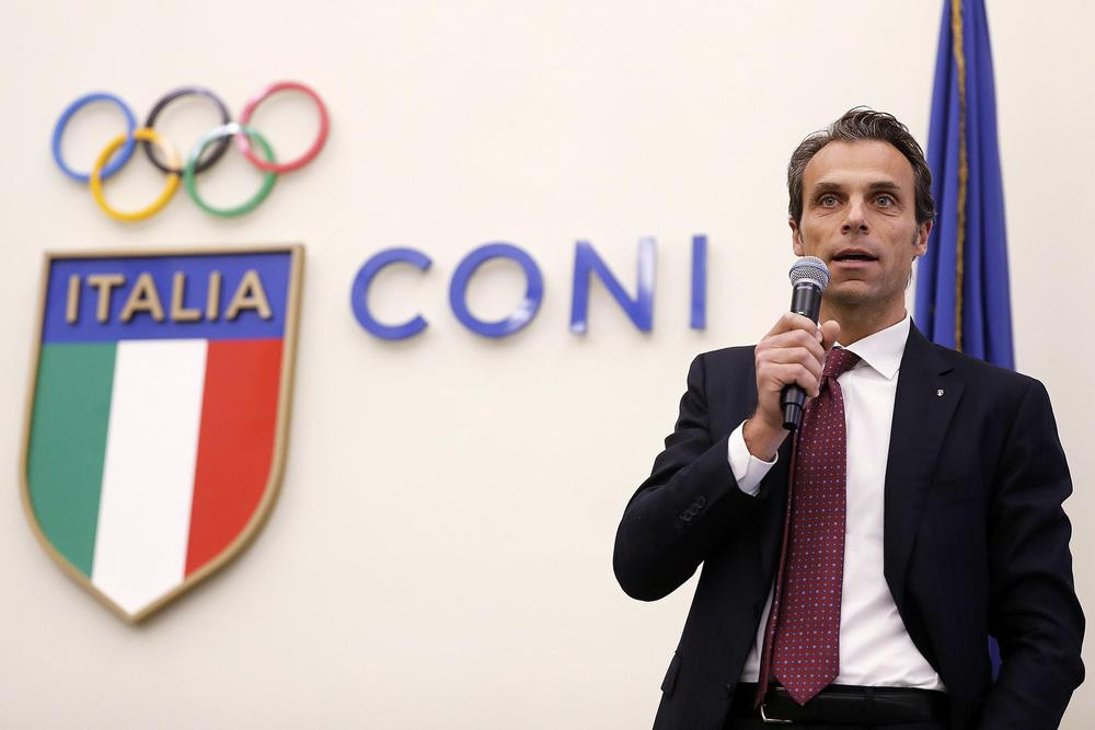 Mornati replaces football boss Fabbricini as CONI secretary general