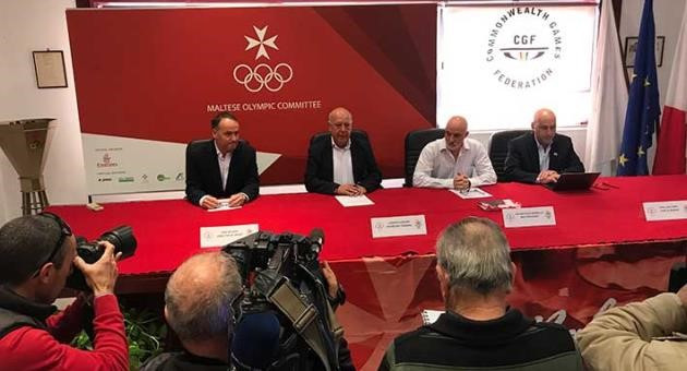 Maltese Olympic Committee officials announce the country's team for Gold Coast 2018 ©MOC