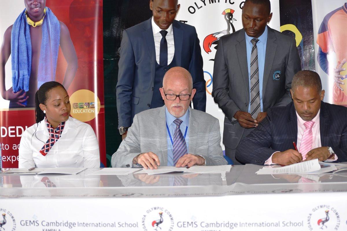 Uganda Olympic Committee renews partnership with GEMS Cambridge