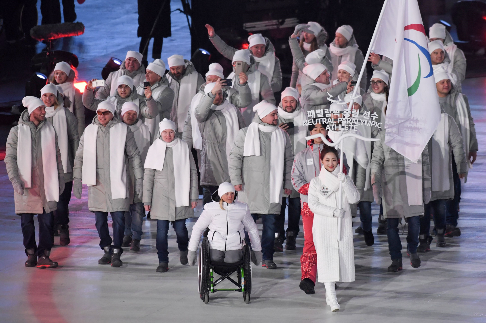 Russia are competing under the banner of Neutral Paralympic Athletes at Pyeongchang 2018 ©Getty Images