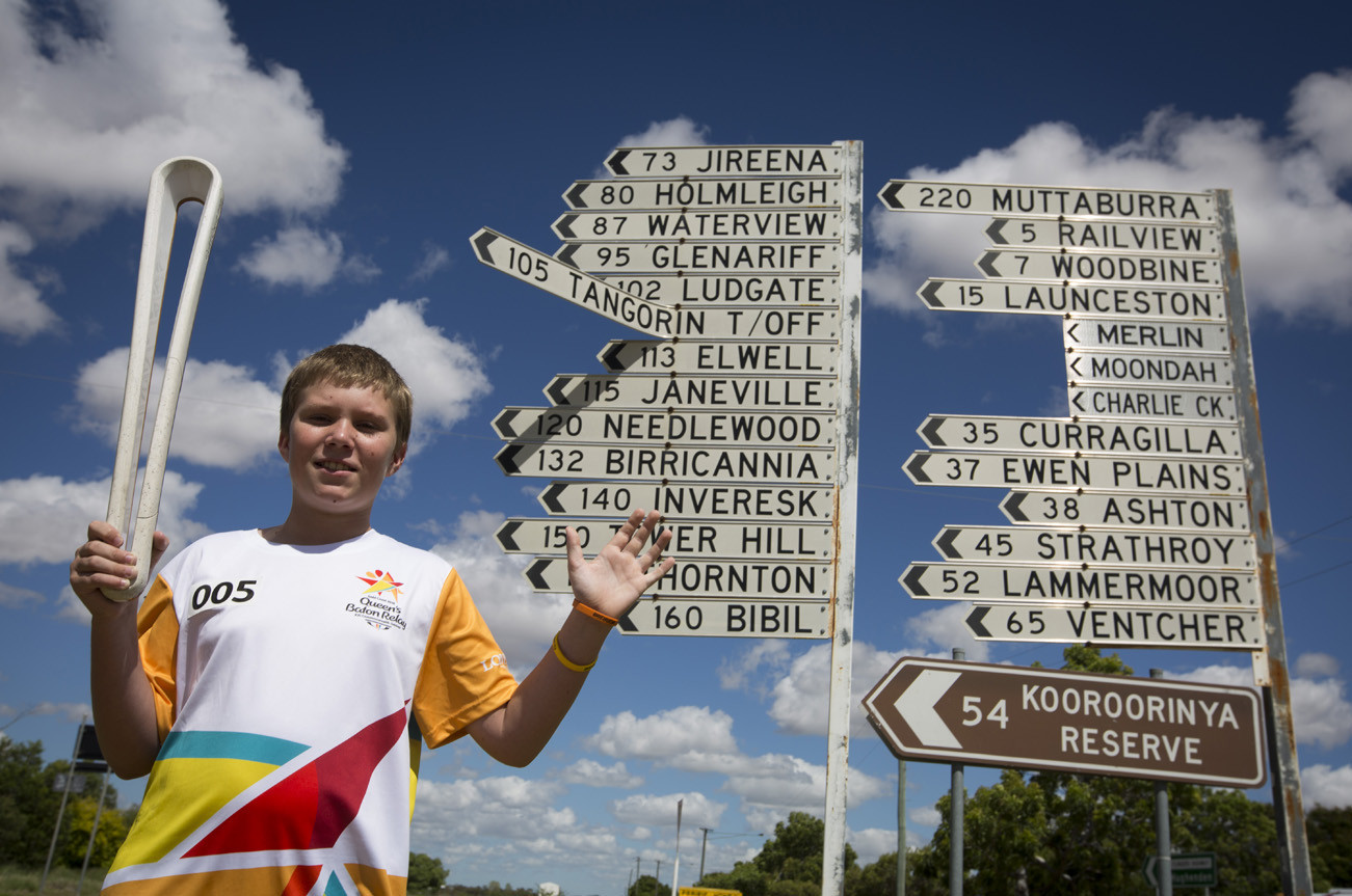 Gold Coast 2018 Queen's Baton celebrates one-year since London launch