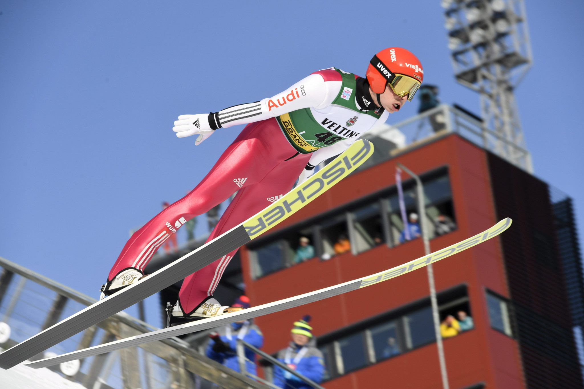 Frenzel wins thriller against Watabe at Nordic Combined World Cup
