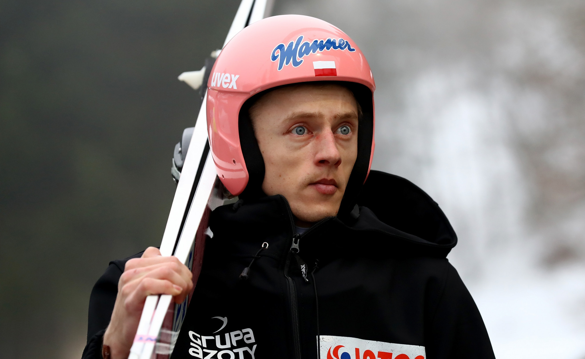 Poland's Dawid Kubacki finished as the runner-up ©Getty Images