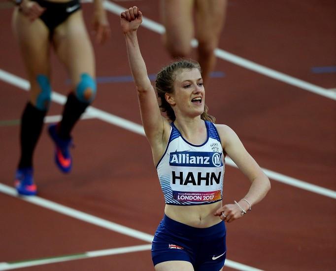 Hahn beats Hermitage as World Para Athletics Grand Prix opens in Dubai