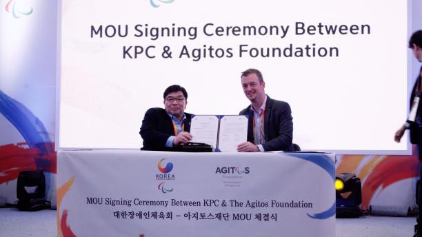 Korean Paralympic Committee and Agitos Foundation sign MoU to ensure Pyeongchang 2018 legacy