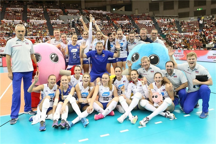 Russia have moved back to the top of the standings at the FIVB Women's World Cup ©FIVB