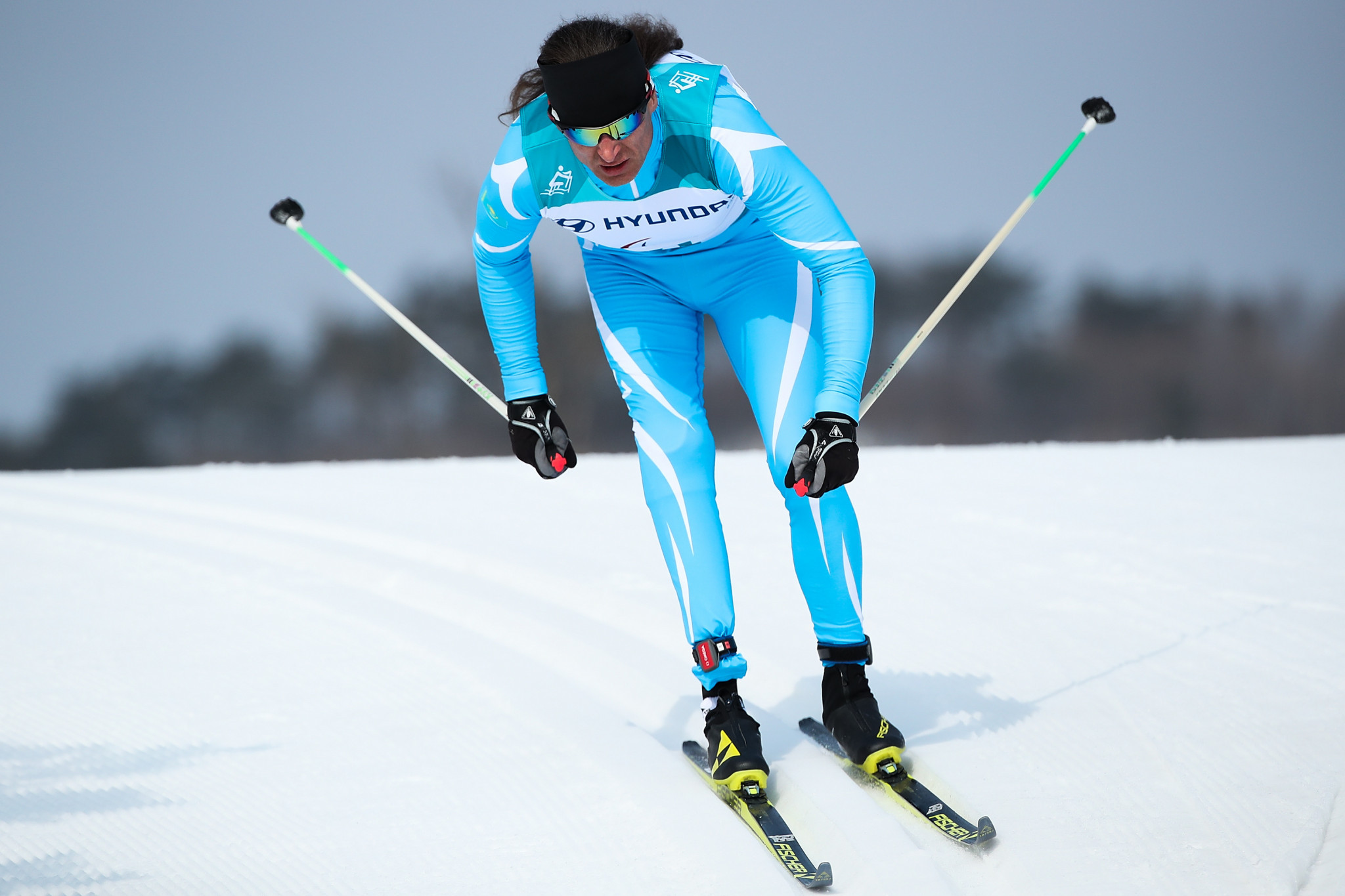 Kazakhstan's Alexander Kolyadin won all three of the races he competed in today ©Getty Images