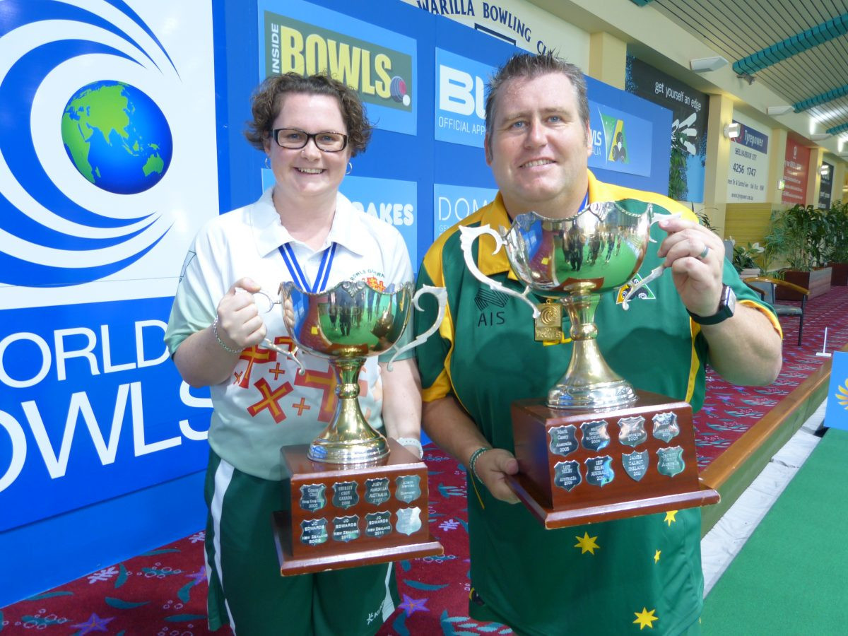 Henry and Beere earn Bowls World Cup titles