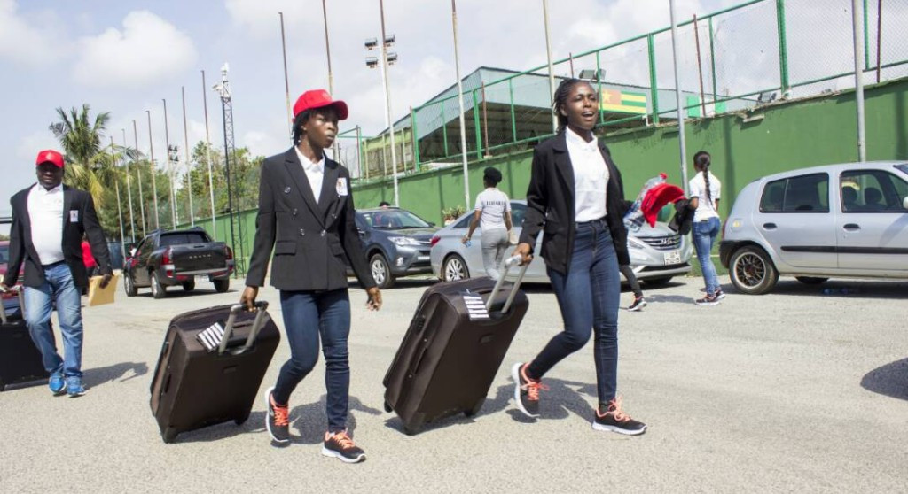 Ghanaian athletes have begun to travel to Australia for a training camp ©Twitter/Team Ghana