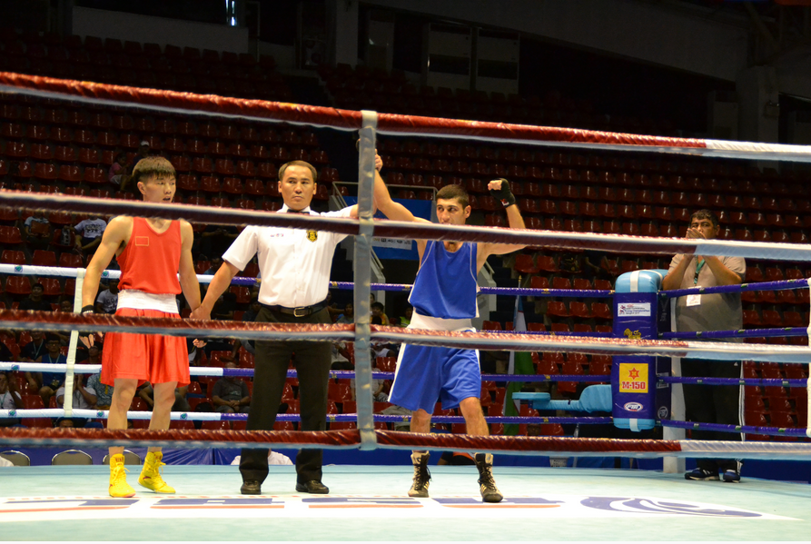 Uzbekistan in seventh heaven after strong semi-finals showing at ASBC Asian Confederation Boxing Championships
